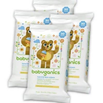 Amazon Coupon Deal: Save Extra 35% on Babyganics Hand & Face Wipes, Free Shipping Eligible!