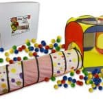 Save 42% on the Play Tent with 100 Balls and Tunnel, Free Shipping Eligible!