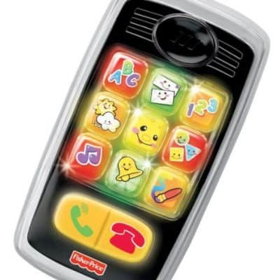 Save 50% on the Fisher-Price Laugh & Learn Smilin' Smart Phone, Free Shipping Eligible!