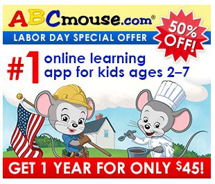 Save 50% on ABC Mouse!