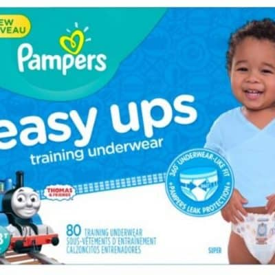 Amazon Diaper Deal: $5 off Pampers Easy Ups Training Underwear, Free Shipping Eligible!