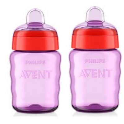 Philips Avent My Easy Sippy Spout Cup 2-Pack only $4.98, Free Shipping Eligible!