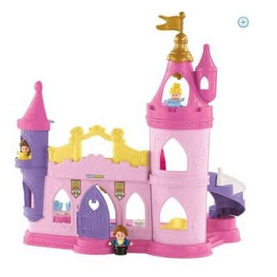 Fisher-Price Disney Princess Musical Dancing Palace by Little People just $24.97 (Was $54.75), Free Shipping Eligible!