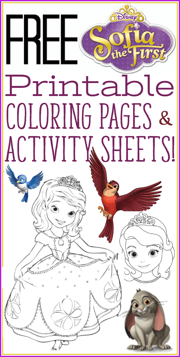 Sofia The First Coloring Pages For Secret Library