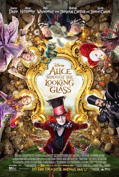 Alice through the looking glass disney red carpet premiere