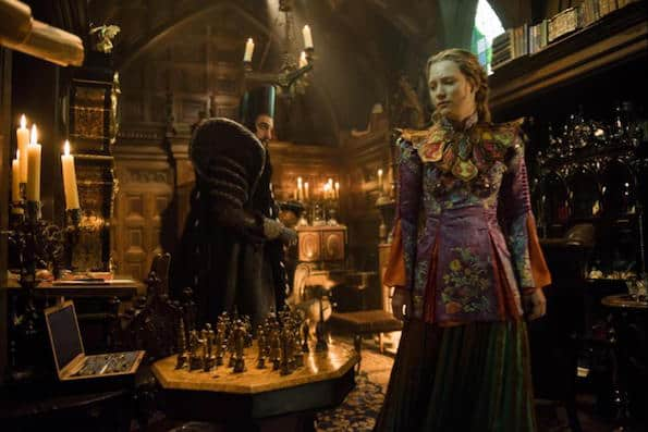Alice through the looking glass alice and time mia wasikowska
