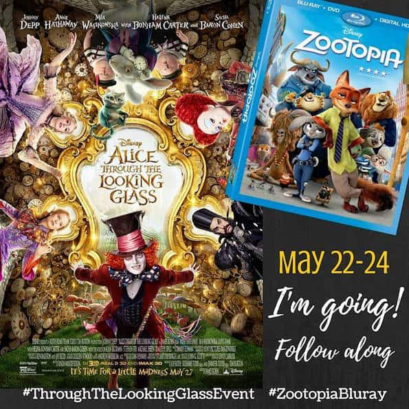 alice through the looking glass zootopia