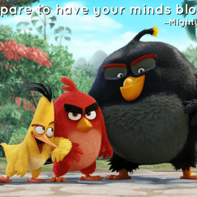 THE ANGRY BIRDS MOVIE Review: Lots of Laughs for All Ages! #AlohaAngryBirds #AngryBirdsMovie