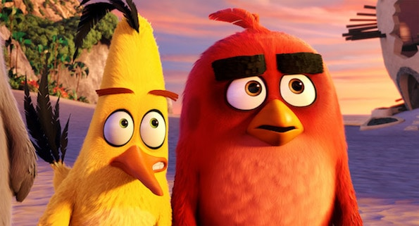 the angry birds movie red chuck