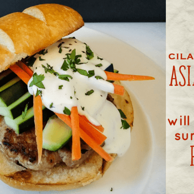 The Asian Chicken Burger Recipe That Will Change Your Summer Cookout