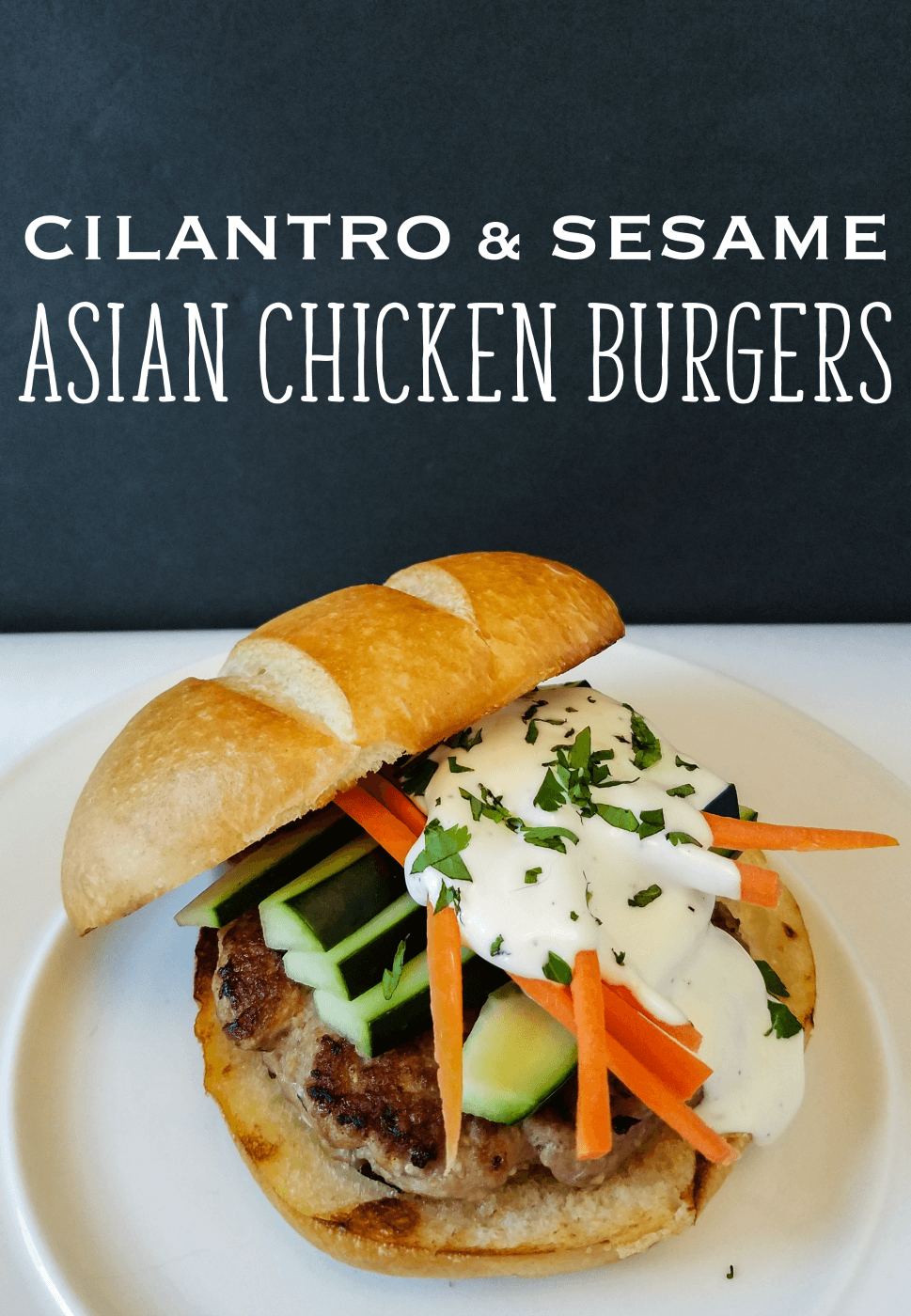 asian chicken burgers recipe