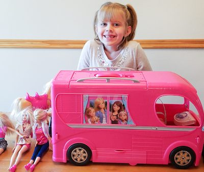 barbie camper review