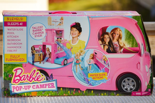 barbie pop up camper review