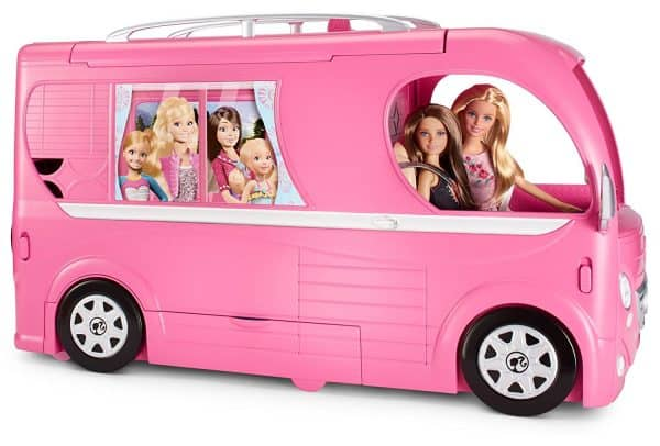 barbie pop-up camper review