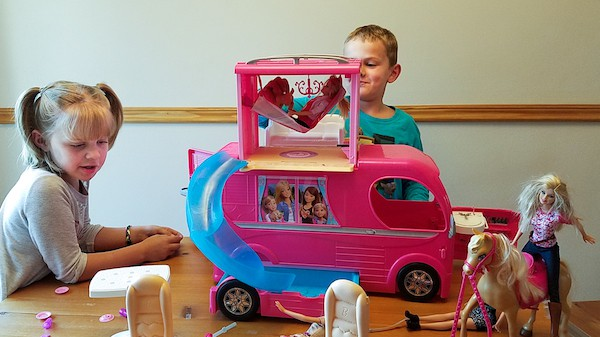 barbie popup camper review