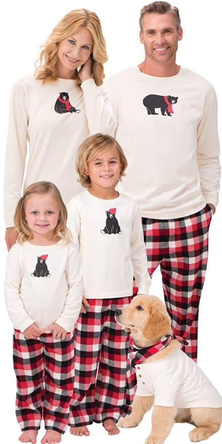 Family Pajama Sets Christmas