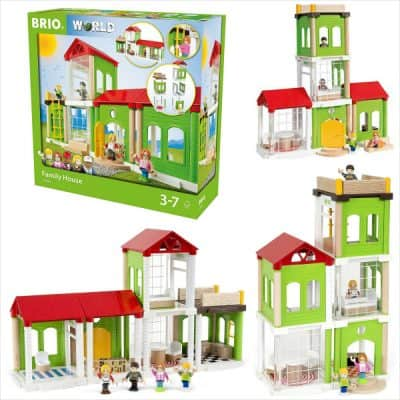 BRIO Village Family Home Playset