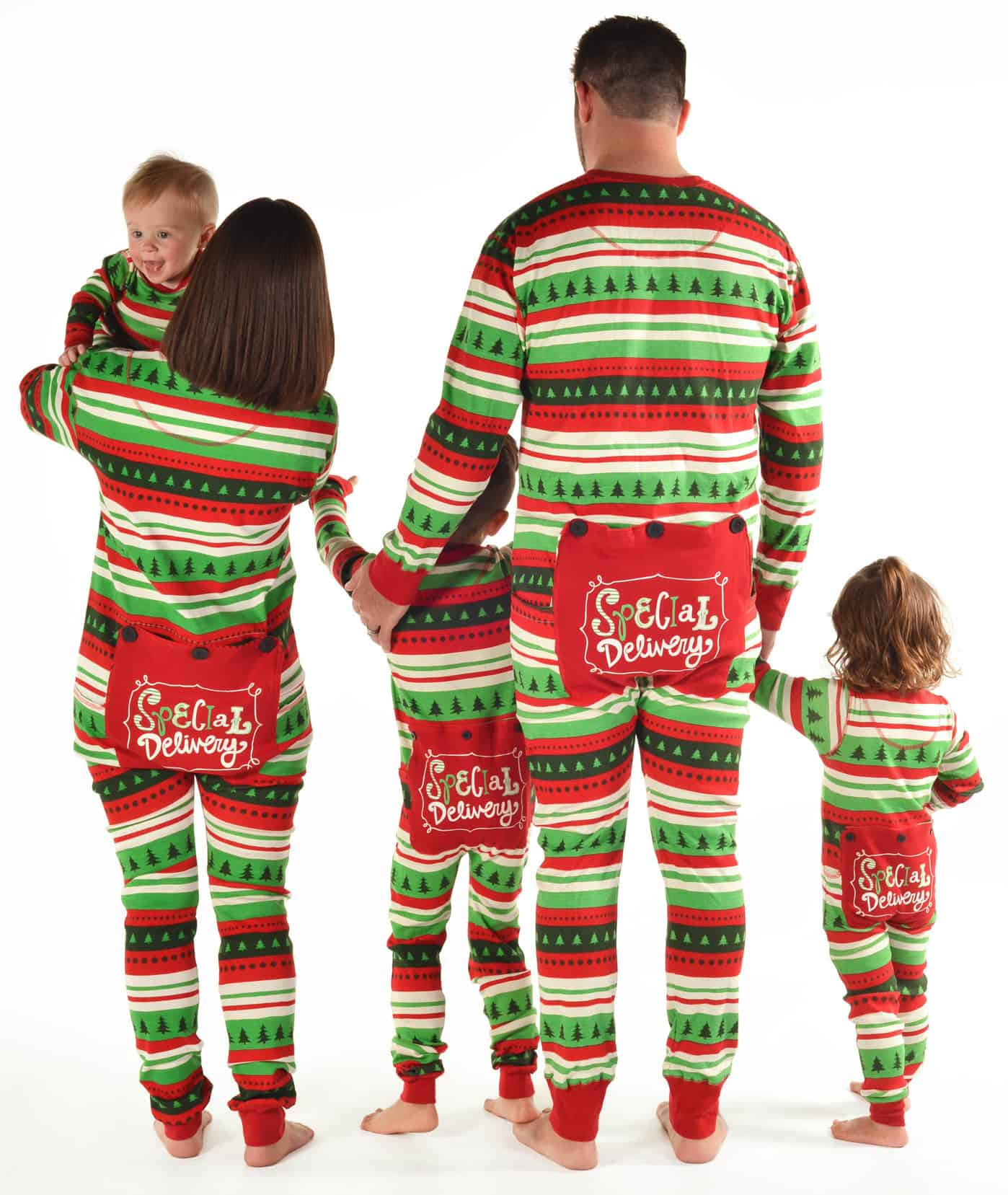 Christmas Family Pajamas for Matching Christmas Morning Pictures