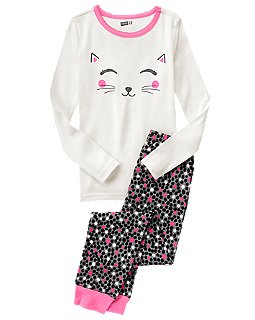 kitty cat pajamas