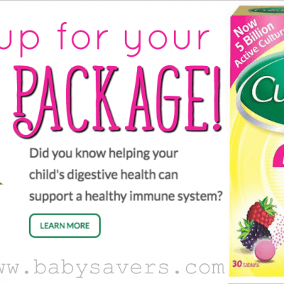 Free Culturelle Kids Chewables Daily Probiotic