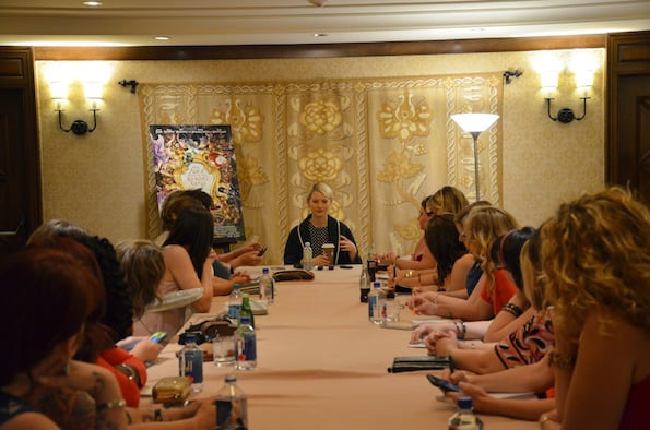 disney press trip blogger interview Mia wasikowska