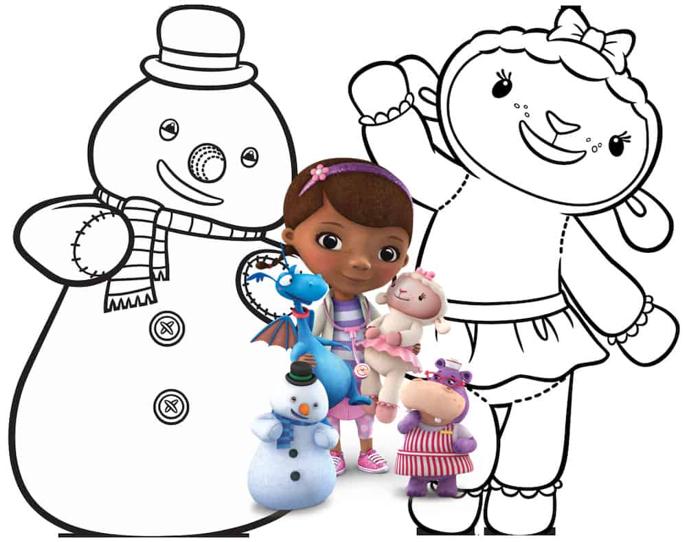 Coloring pages for doc mcstuffins - Coloring Pages For Doc Mcstuffins 47