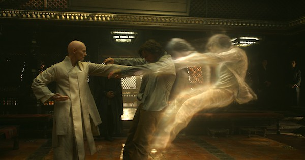 the ancient one first scene doctor strange