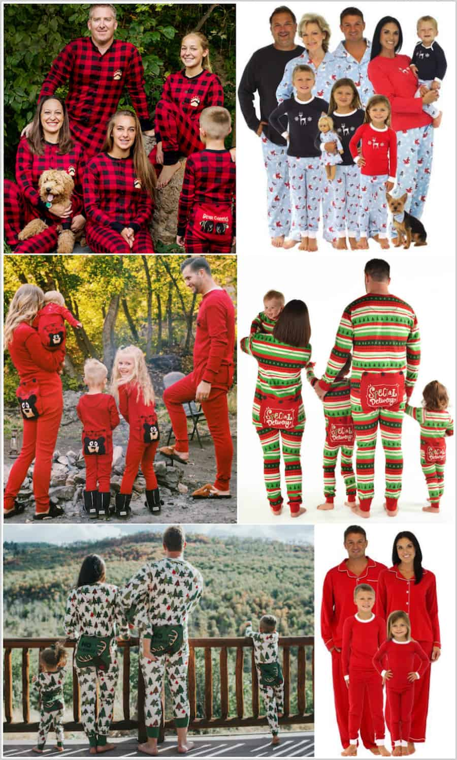 more stores for family christmas pjs