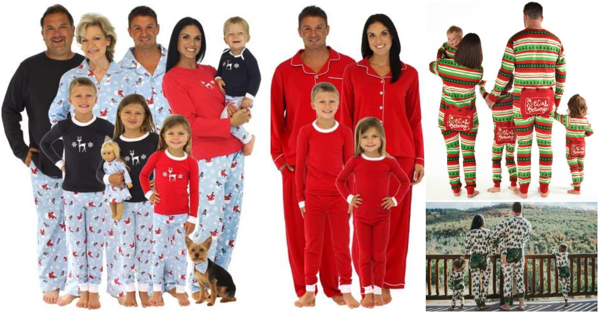 Family Christmas PJs  Fun Matching Pajamas For the Whole Family 6a485c733