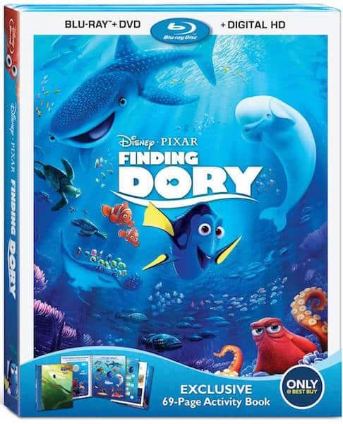 finding dory blu ray dvd