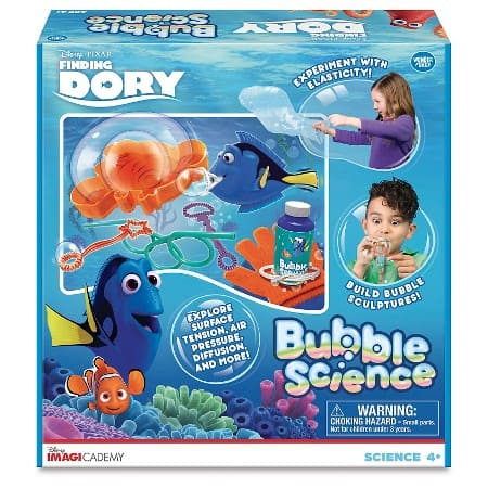 finding dory bubble science kit