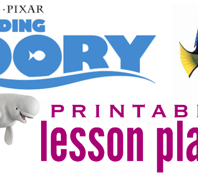 Finding Dory Lesson Plans: Free Printables for Teachers and Parents