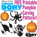 Finding Dory Pumpkin Carving Patterns and Stencils