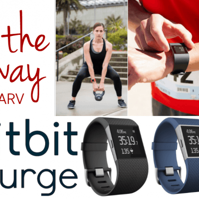 FITBIT SURGE – A Fitness Super Watch that Does it All #VZWBuzz #FitbitSurge