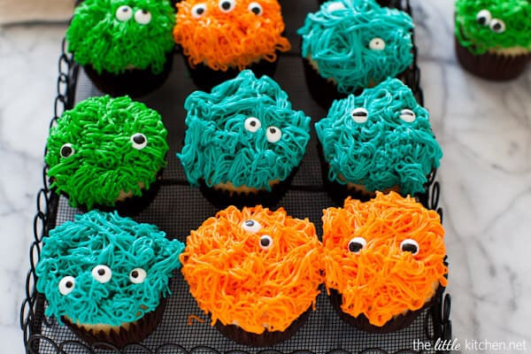 halloween cupcake ideas monsters
