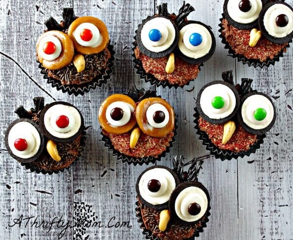halloween cupcake ideas - Decorate Halloween Cupcakes