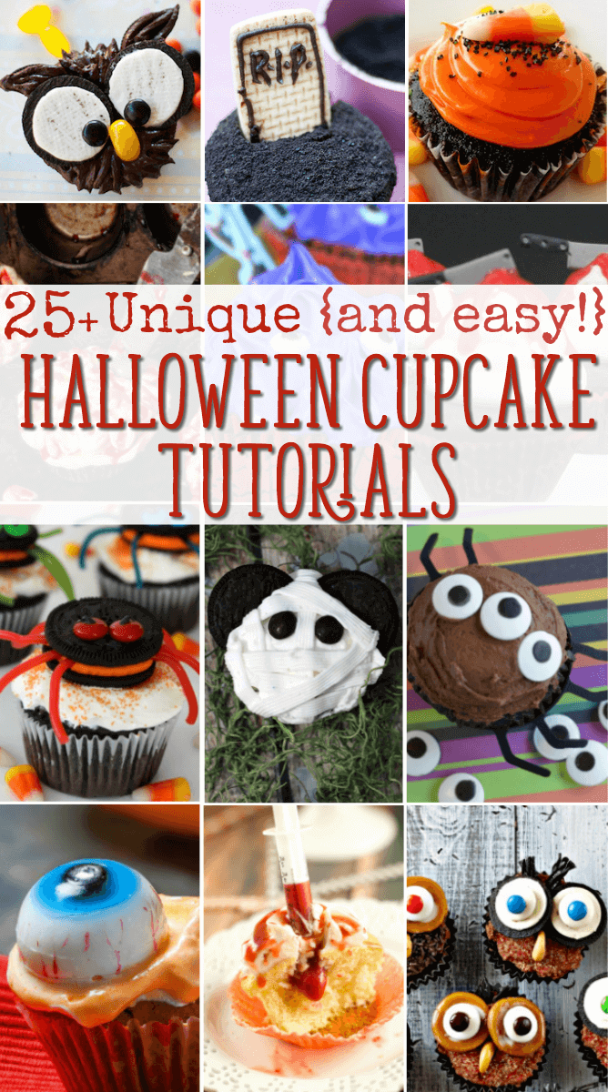 halloween cupcake ideas with tutorials