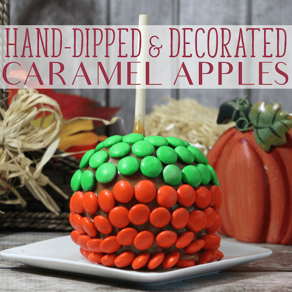 caramel apples no wrapped caramels