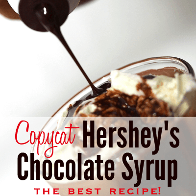 How to Make Homemade Hershey's Chocolate Syrup from Scratch