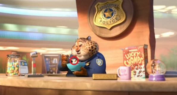 hidden mickeys in zootopia cereal