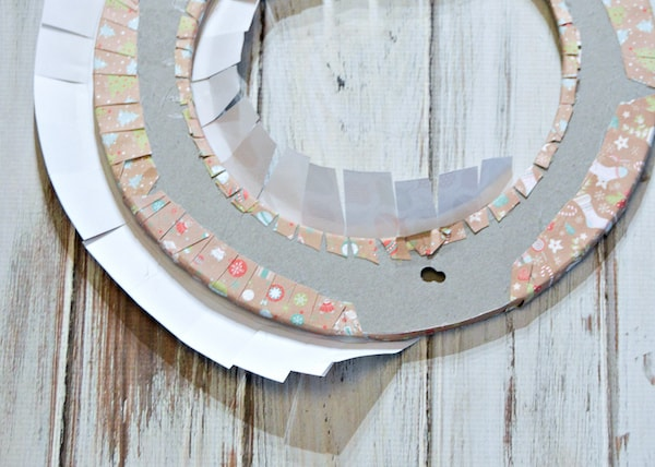how to make a tea bag wreath diy