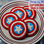 How to Make Captain America Shield Cookies with Recipe and Tutorial