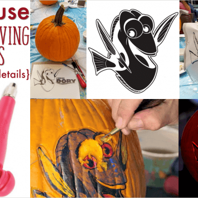 How to Use Pumpkin Carving Patterns – Tips from a Master Pumpkin Carver #FindingDoryBluray