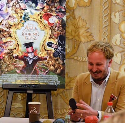 An Interview with James Bobin, Director of ALICE THROUGH THE LOOKING GLASS