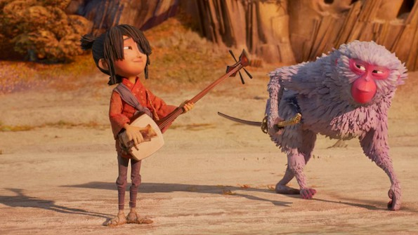 Kubo and the two strings kubo and monkey still