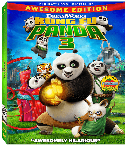 Kung Fu Panda 3 printable coloring pages