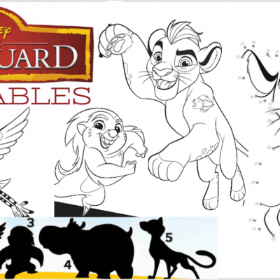 lion guard printables
