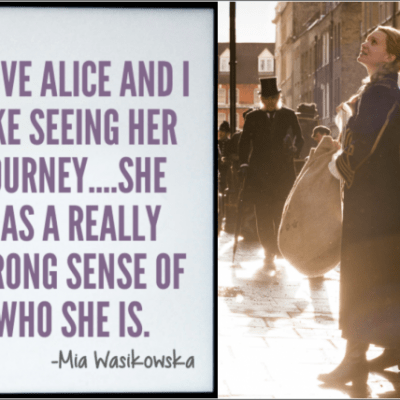 Exclusive: Mia Wasikowska Interview from ALICE THROUGH THE LOOKING GLASS