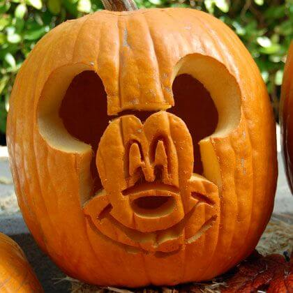 Refreshing image for mickey mouse pumpkin stencils printable