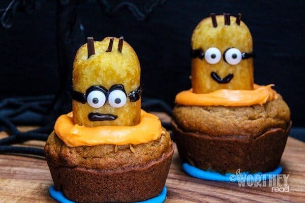 halloween cupcake ideas minion twinkies